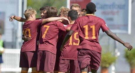 Primavera Peronne Cup Esultanza giocatori