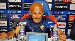 Spalletti Conferenza post gara Cagliari-Roma