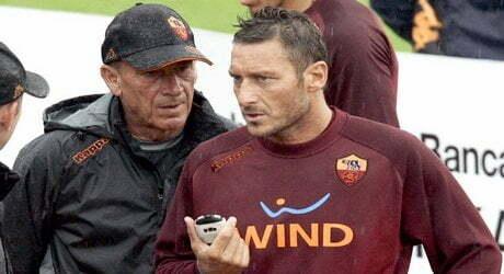 Totti, ultima contro il maestro Zeman. Florenzi: 'Lui è la storia della Roma' (RS Il Corriere della Sera)
