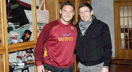 TOTTI E' data a 100 la quota che Di Francesco richiami il 'Capitano' in campo