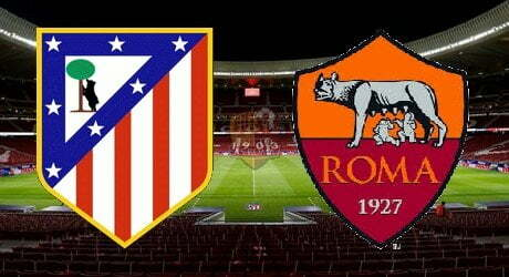 ATLETICO MADRID-ROMA 2-0 (TABELLINO)