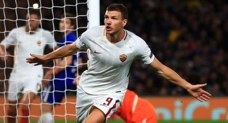 TORINO-ROMA Dzeko debilitato in mattinata da un virus intestinale