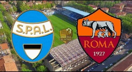 SPAL-ROMA 0-3 (TABELLINO)