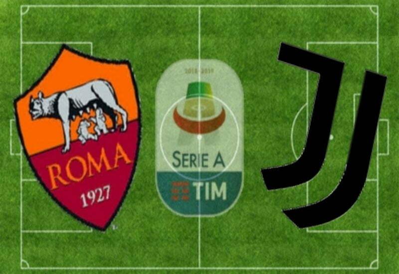 ROMA-JUVENTUS 1-2 (TABELLINO)