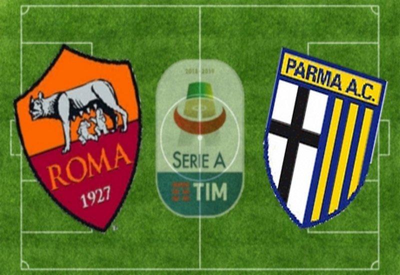 ROMA-PARMA 2-1 (TABELLINO)
