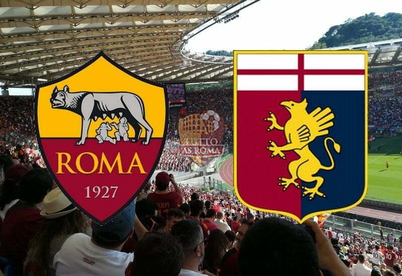 ROMA-GENOA                     Stadio Olimpico 25 agosto 20.30