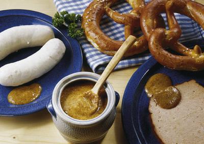 La birra e i piatti tipici della cucina bavarese