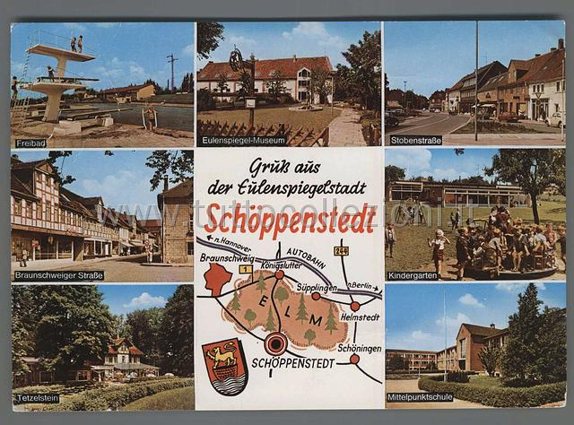 Postcards from Niedersachsen Collection of European postal cards  Collezione di cartoline