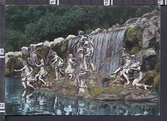 La Reggia di Caserta Collezione di cartoline immagini e