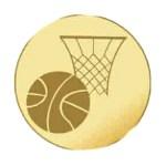 lastrina per medaglia pallacanestro
