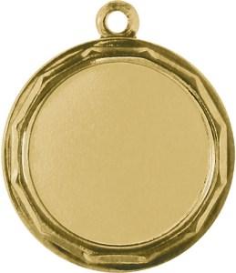 Medaglia colore oro diametro 32