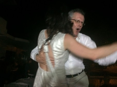 Paolo more than keeping up with Raquel the bride on the dance floor
