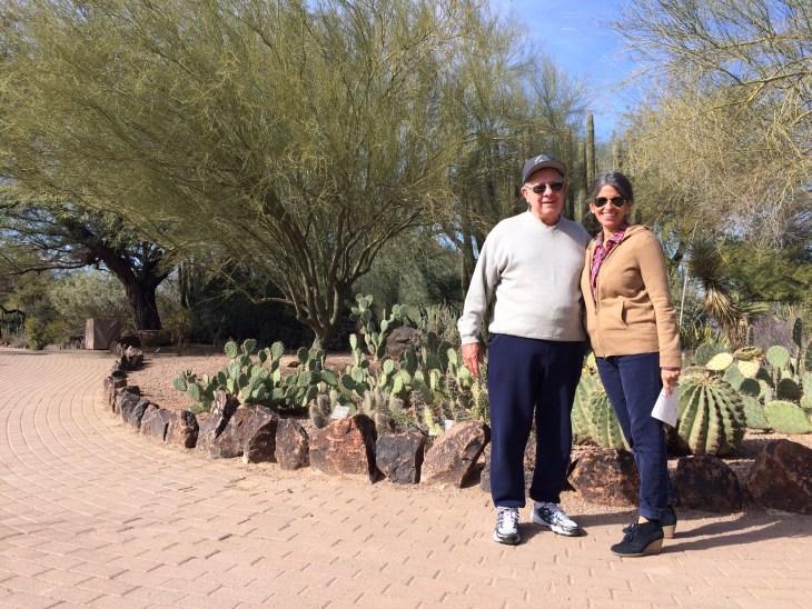 Fun among the cacti