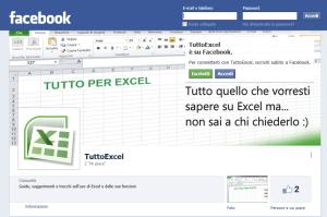 TuttoExcel ora è anche su Facebook e Google+