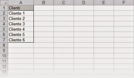 Nomi con riferimenti dinamici per gli intervalli in Excel