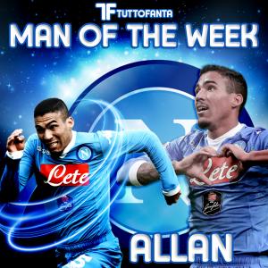 allan mow man of the week tuttofanta napoli serie a fantacalcio