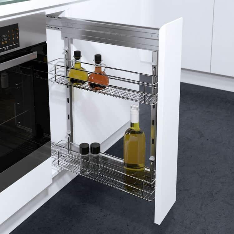 Cesti Saphir modulo 300 mm DSA per mobili estraibili cucina  Vauth Sagel Hfele  Tuttoferramentai
