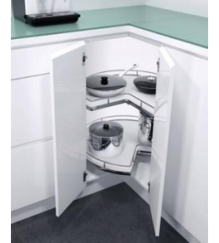 Recorner Max meccanismo ad angolo per cucina serie Hfele