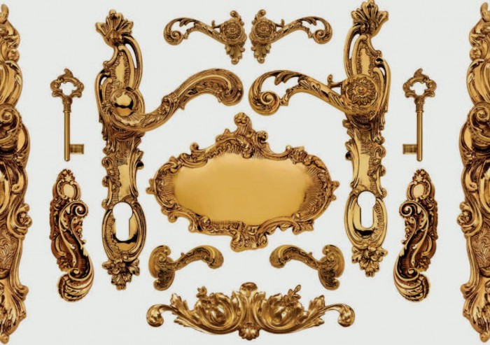 Luigi XV Maniglie online in Stile designer Enrico Cassina  Tuttoferramenta