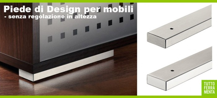 Piedini per mobili Design categoria Accessori mobili  Tuttoferramenta