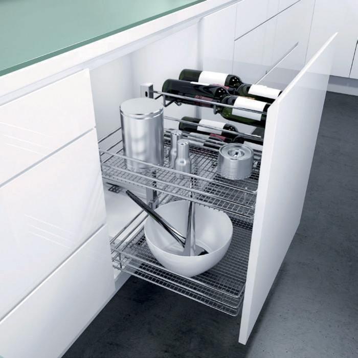 Frontale estraibile per mobile cucina  Ferramenta per mobile  BaseLiner  Hfele  Tuttoferramenta