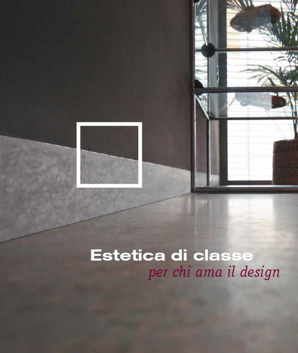 Battiscopa Ags System Filomuro  Profilo Battiscopa Ferramenta per porte filomuro e accessori  Tu