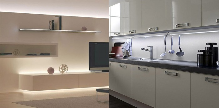Strisce LED flessibili e Strisce LED rigide