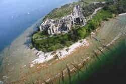 Sirmione - Grotte di Catullo dall'Alto