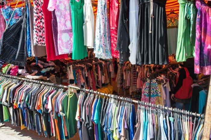 Come vendere vestiti usati