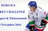 Euro Ice Hockey Challenge: da oggi l'ultima tappa del 2016