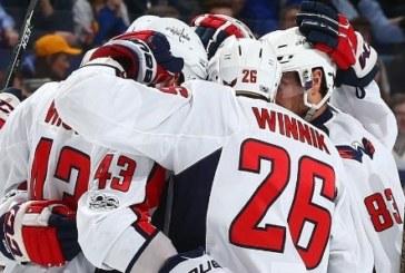 Focus NHL: cambio al vertice, ora comandano i Washington Capitals