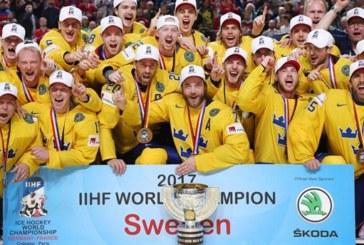 Mondiali IIHF: a sorpresa trionfa la Svezia, Canada secondo