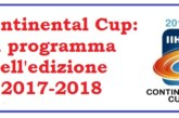 IIHF Continental Cup: assegnata a Minsk la Final Four