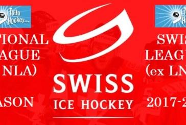 Qui Svizzera: ufficializzata la nuova stagione 2017-2018