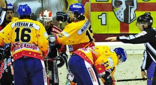 Alps Hockey League: la capolista Renon sconfitta ad Asiago