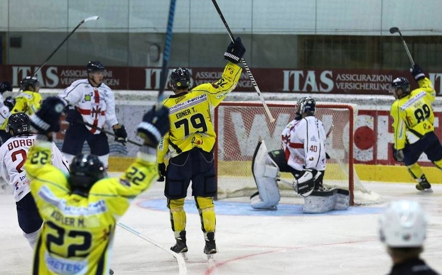 Italian Hockey League: sarà finale Merano-Appiano