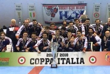 Inline Hockey: monologo Milano, sua anche la Coppa Italia 2018