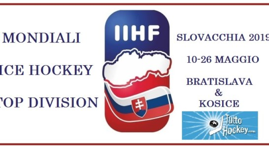 Blue Team: via alla spedizione dei Mondiali IIHF 2019