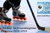 Inline Hockey: la presentazione della stagione 2018-2019