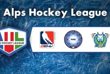 Alps Hockey League: terminata la prima fase, via alle 30 giornate delle regular season 2020-2021