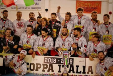 Inline Hockey: ai Diavoli Vicenza la Coppa Italia 2018-2019