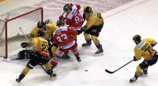 Austrian Ice Hockey League: prova di fuga per la capolista Bolzano Foxes