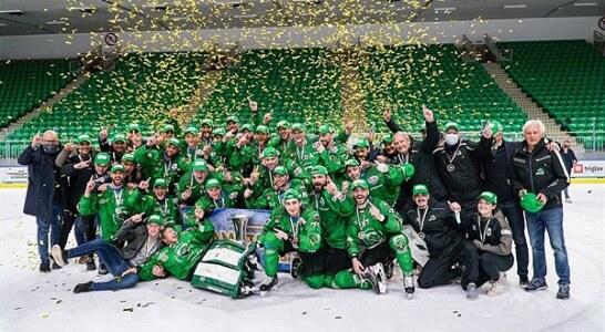 Alps Hockey League: trionfo bis per gli sloveni dell'Olimpia Lubiana