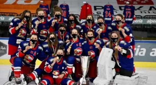 Femminile: 17.esimo scudetto per le Eagles Bolzano