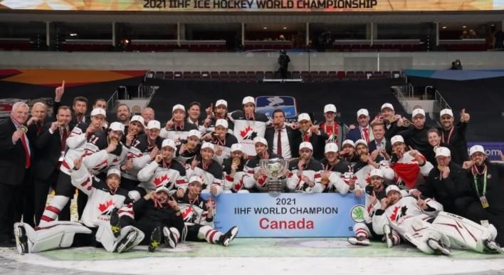 Mondiali IIHF 2021: a sorpresa trionfa il Canada, argento Finlandia, bronzo Usa