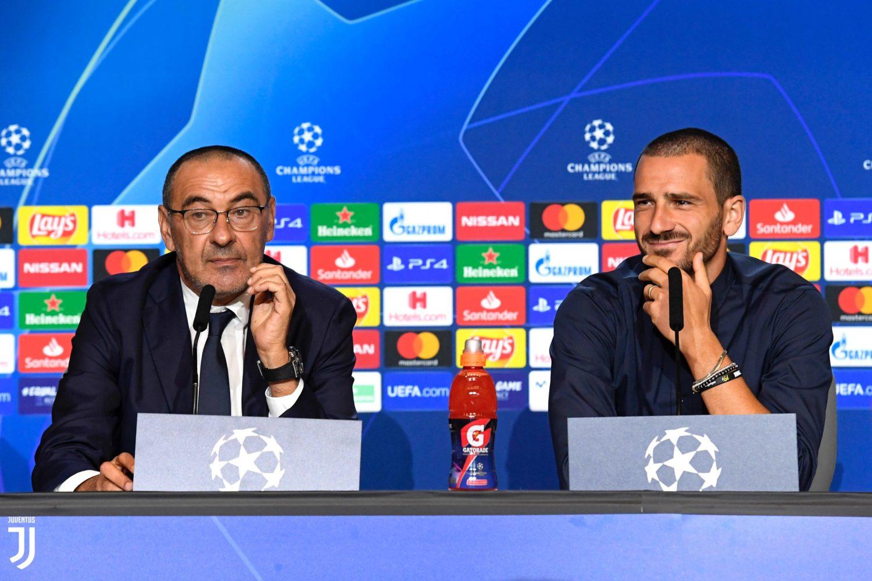 Afbeeldingsresultaat voor bonucci conferenza stampa atletico juve
