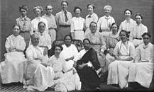 Alcune sorelle della Missione Mukti