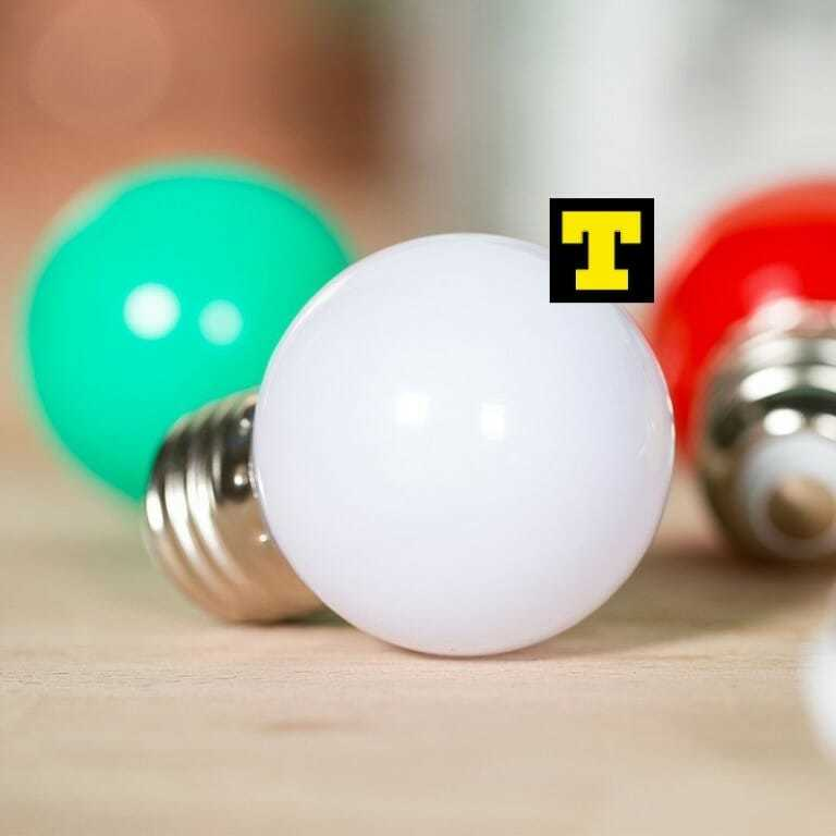 Lampadina led 1w e27 2700k sfera bianco satinato ip20 for Lampadine a led in offerta