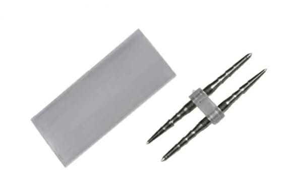 Giunto lineare per tubo led flessibile