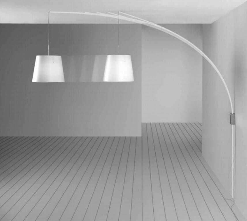 Lampada parete cursore sospensione centro stanza senza